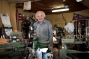 John greets all who enters his shop with genuine interest and kindness.
