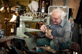 Many of the tools and machinery that John uses are those that were used by his uncle.