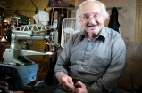 Mr. John Marcon began working in his uncle's cobbler shop when he was 8 years old.