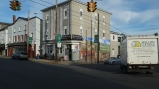 """Located at the center of Pen Argyl, Pies To Die For Cafe features the Heritage """"Homefront"""" Mural."""