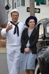 James Gloria, Stephanie Sperger, & 1940's Ford